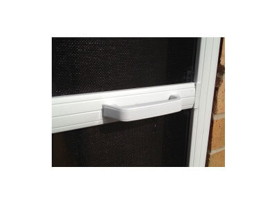 hinged fly screen for doors