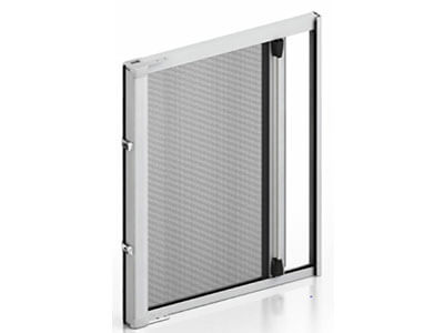 retractable roller fly screen door