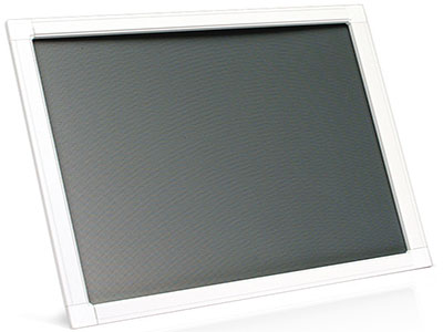 hinged fly screen panel