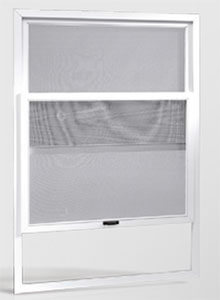 vertical sliding fly screen